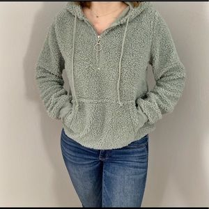 Tops - Fuzzy sweater